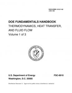 thumbnail of DOE Thermodynamics Vol 1