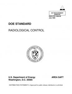 thumbnail of DOE Radiological Control