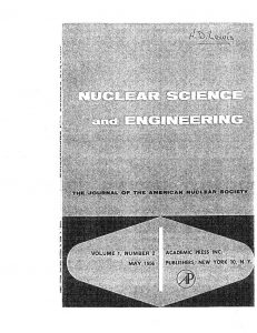 "thumbnail of An Unreflected U-235 Critical Assembly."" Nucl. Sci. Eng. 1, 112-125, (1956)"