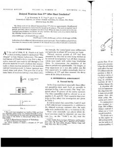 thumbnail of Delayed Neutrons from 235U After Short Irradiation Phys. Rev 74 (10) 1330-1337 (19 48)