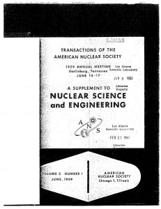 thumbnail of A Summary of Experimental Results of the Spherical Core Investigations in the Kewb Program 1959
